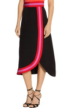 Shop on-sale Roksanda Teegan wrap-effect silk-blend crepe de chine skirt. Browse other discount designer Skirts & more on The Most Fashionable Fashion Outlet, THE OUTNET.COM