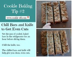 Cookie Baking Tip #2  from The Cookie Elf. Get more great tips here: http://www.cookie-elf.com/baking-cookies-tips.html