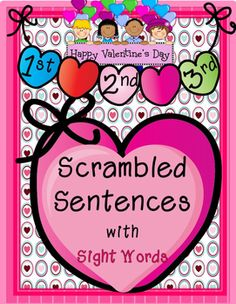 valentine's day scrambled words