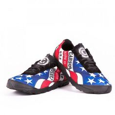 728e52743833 Stars and Stripes Minimalist Running Shoes by Carson Footwear