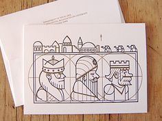 3 Kings #illustrations #icons #line