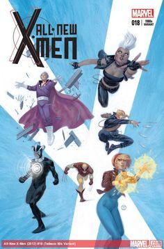 All-New X-Men #18 (Tedesco 1980's Variant)