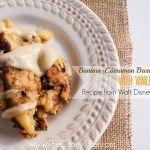 Pina Colada Bread Pudding with Vanilla Rum Sauce - Disney Cruise Lines - The Disney Chef