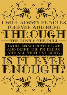 Ever Enough