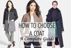 How to choose a coat – a complete guide for buying the right one! | 40plusstyle.com