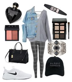 """""""Untitled #527"""" by libby268 ❤ liked on Polyvore featuring Topshop, Nasaseasons, NIKE, Ralph Lauren, Stephen Webster, Bobbi Brown Cosmetics, NARS Cosmetics, Lipsy and Maybelline"""
