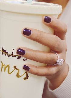 Newly engaged! Perfect pear shape halo diamond engagement ring by Ascot Diamonds