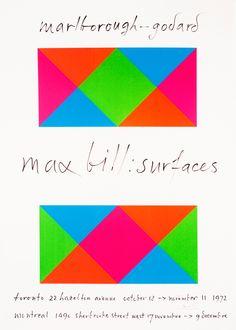 Max Bill / Marlborough-Godard Surfaces repinned by Awake — http://designedbyawake.com #geometry #graphic #art #minimalism