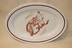 Buffalo China Rodeo Platter