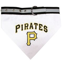 Pets First MLB Pittsburgh Pirates Pet Bandana Small *** Learn more by visiting the image link.