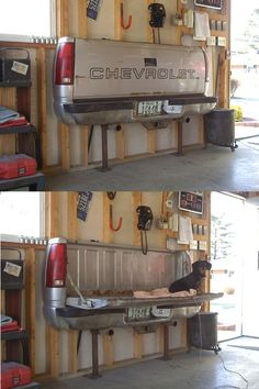 Truck bed Couch! / Found this on a truck forum that I can not for the life of me remember the name of... Sorry!