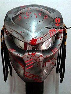 White Predator Motorcycle Helmet Cool Bikes Motorcycle Helmets