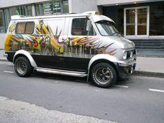 Customised Vans, Custom Vans, Bedford Van, Ram Van, Old School Vans, Rusty Cars, Cool Vans, Camper Van, Buses