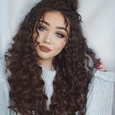 56 Easy and Elegant Braid Hairstyles for School - Fashion curly hair styles 56 Easy and Elegant Braid Hairstyles for School Sleep Hairstyles, Easy Hairstyles, Hairstyles For Curly Hair, Braids For Curly Hair, Stylish Hairstyles, Fashion Hairstyles, Frizzy Hair, Chopstick Curls Hairstyles, Perms For Long Hair