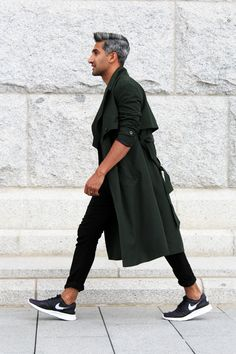 All Black, Urban Street Style, Men's Spring Summer Fashion.
