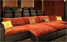 Awesome Home Theater Seating