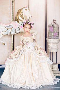 Edwardian Rose... Une robe inspiration victorienne Floral