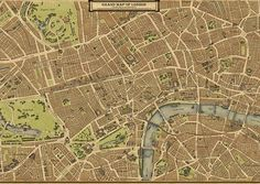 Credit: Wellingtons Travel  A section of Wellingtons Travel's Grand Map of London, which took three years to create and is available in vari...