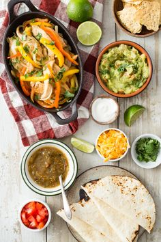 Chicken Fajitas from weelicious.com