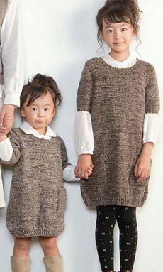 Ravelry: Foire свитер платье узор с Пьерро (Gosyo Co., Ltd)