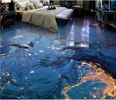 Jungle Picture D Wall And Floor Tiles Hot Sale In Dalian D Ceramic - 3d vinyl flooring for sale