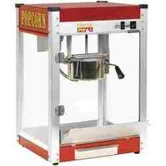 How to operate a Commercial Popcorn Machine - How to use a Popcorn Popper