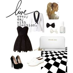 Live every day by jessalessandra on Polyvore featuring moda, Emilio Pucci, Michael Kors, H&M and Essie