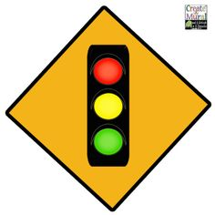 Create-A-Mural - Traffic Light Sign Wall Decal, $9.99 (http://www.create-a-mural.com/street/traffic-light-sign-wall-decal.html)