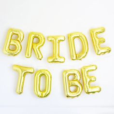 9pcs/lot BRIDE TO BE Gold silver foil ballon bachelorette party wedding decoration wedding event party supplies-in Event & Party Supplies from Home & Garden on Aliexpress.com | Alibaba Group