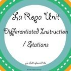 Included in this packet you will find 21 different activities to help you teach La Ropa in Spanish presented in ways that help students practice th...