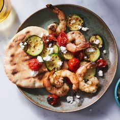 The best shrimp recipes are fancy-seeming—but they're easy too. Check out our best recipes for grilled shrimp, shrimp risotto, shrimp and grits and more. Best Grilled Shrimp Recipe, Best Shrimp Recipes, Seafood Recipes, Grilled Seafood, Grilled Meat, Cheese Recipes, Cherry Tomato Recipes, Cherry Tomato Pasta, Ceviche
