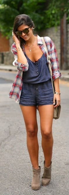 Everyday New Fashion: Chic Plaid by TrendyTaste