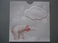 Cartes d'invitation anniversaire enfant, thème ours polaire : Ecole et loisirs par filsetcouleurs