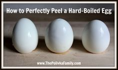 How to Perfectly Peel a Hard-Boiled Egg