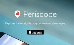 Broascast anywhere anytime. Periscope App, Margiela, Lettering, News, Home, Drawing Letters, Brush Lettering