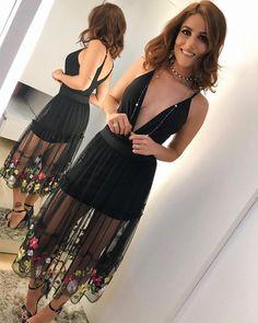 """6,929 curtidas, 141 comentários - Marcella Di Donato (@marcelladidonato) no Instagram: """"Aquele look black perfeito pra qualquer ocasião  de ontem na @boutiquemissmarie #me #blackmood…"""""""