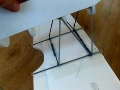 Tough wire cabanes for foamboard planes.