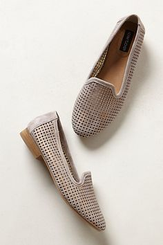 lasercut loafers / anthropologie