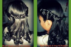 Dr.Poison Ivy's Beauty Blog: Graduation prom night hairstyle for medium to long hair