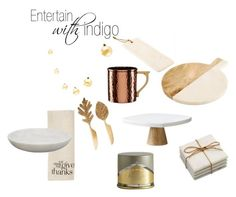 Entertain With Indigo By Thegreyinteriors On Polyvore Featuring Interior Interiors Design