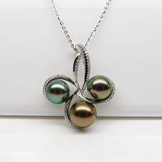 NEW --  tahitian pearl pendant