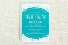 Bunte, Hochzeitssuite Duscheeinladung, Brautdusche einladen, Modern, blau, künstlerische, Hochzeit Einladung zur Babyparty, bedruckbar, Digital, Custom