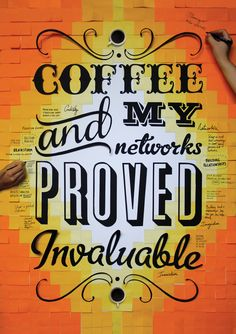 Coffee & Networks by Anna Garforth.