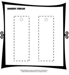 1000 images about kids art ideas on pinterest deep for Create your own bookmark template