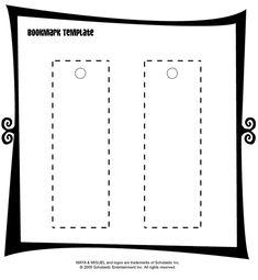 Bookmark Templates Editable WORD Printables Reading | Bookmark ...
