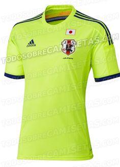 Japão terá camisa amarela na Copa - http://www.colecaodecamisas.com/japao-tera-camisa-amarela-copa-2014/ #colecaodecamisas #Adidas, #Copadomundo2014