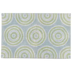 Park B. Smith Ultra Spa Circles Geometric Bath Rug