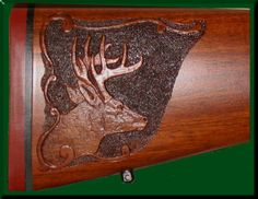 gunstock Relief Carving | whitetail-1