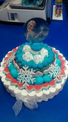 Duldi Lleida personaliza esta dulce tarta para un fan de la película Frozen.