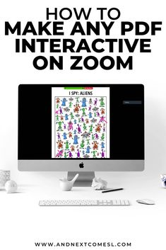Zoom Tips for Teachers: How to Make Any PDF Interactive on Zoom